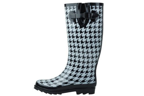 sunville Rain Houndstooth New Rubber Styles Multiple in Available Boots Women's rAvTBRpA
