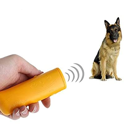 Outdoor Flashlight Pet Training Device Anti Barking Stop-Barking Ultrasonic Dog Repeller