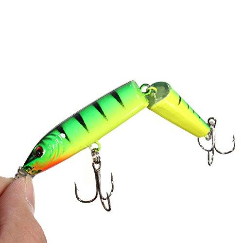 1pcs 10.5CM 12.3G Fishing Lures Crankbait Crank Hooks Spinner Fishing Lures Baits Hooks (03) by Generic
