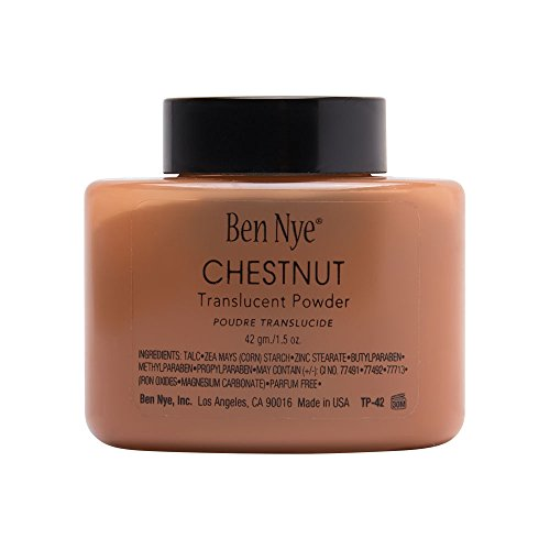 Ben Nye Chestnut Powder 42gm/1.5oz (Nye Ben Set Powder)