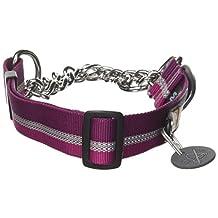 Ruffwear Chain Reaction Collar, Medium, Purple Dusk