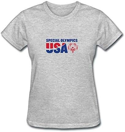 JXK Women's Special Olympics Usa Logo T-shirt Size XXL ColorName