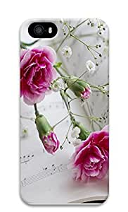 Case For Ipod Touch 4 Cover Nature Carnations 1 3D Custom Case For Ipod Touch 4 Cover Cover