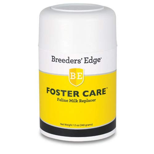 Revival Animal Health Breeders' Edge Foster Care Feline- Powdered Milk Replacer- for Kittens & Cats- 12oz by Revival Animal Health