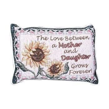 Amazon.com: Madre Hija Amor decorativo Tapestry Toss ...