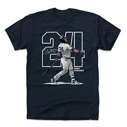 500 LEVEL Gary Sanchez Shirt – New York Baseball Men's Apparel – Gary Sanchez Outline – DiZiSports Store