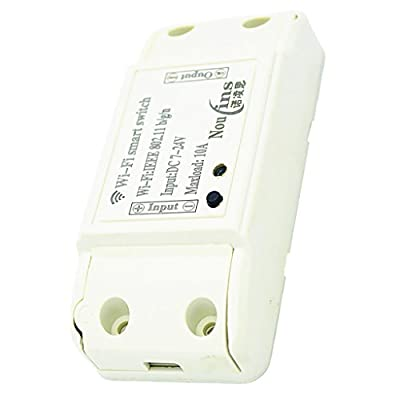 MagiDeal DC 7-24V Wireless Smart Switch Module ABS Shell Socket for Home Automation