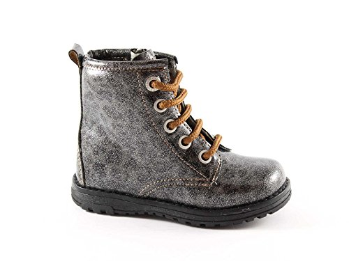 Primigi botas 20737 30/34 zapatos de bebé grises botas zip Grigio