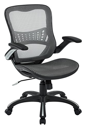 office star mesh seat back manager s chair grey lawrence county
