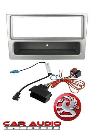 Autoleads FP-005 Car Audio Single DIN Facia Universal ISO Metal Cage Kit