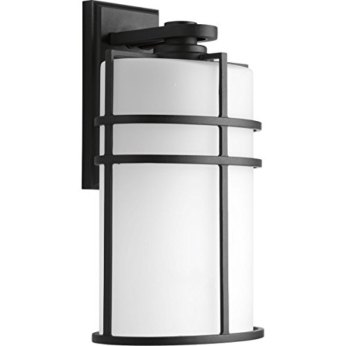 Progress Lighting P6064-31 1 LT Wall Lantern with Etched Glass, 9.5