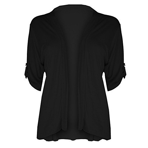 Manche Outlet Bouton Femme Court Cardigan Oops Retrouss wBf7qRwU