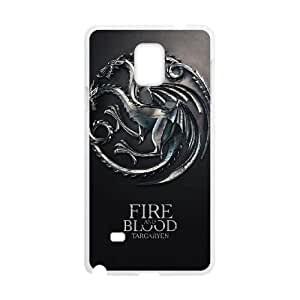 Samsung Galaxy Note 4 Cell Phone Case White Game of Thrones hud