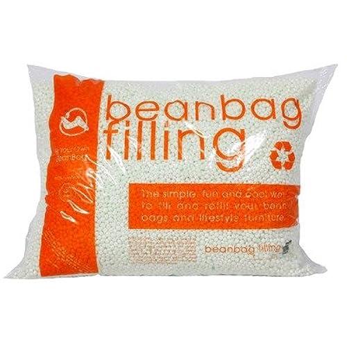 100 Virgin Bean Popped Polystyrene Bag Refill 35 Cubic Feet 1