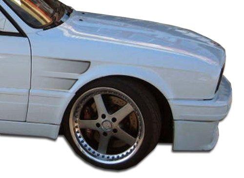 Concept Gt Duraflex Fenders (1984-1991 BMW 3 Series E30 2DR 4DR Duraflex GT Concept Fenders - 2 Piece)