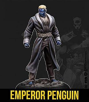 Knight Models Juego de Mesa - Miniaturas Resina DC Comics Superheroe - Batman - Emperor Penguin: Amazon.es: Juguetes y juegos
