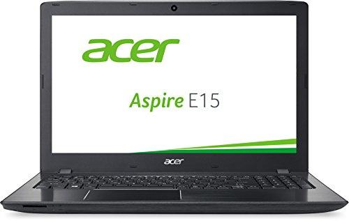 Acer Aspire E 15 (E5-575G-54TU) 39,6cm (15.6 Zoll Full HD) Notebook (Intel Core i5-6200U, 8GB RAM, 96GB SSD + 1000GB HDD, NVIDIA GeForce 940MX, DVD, Win 10 Home) schwarz