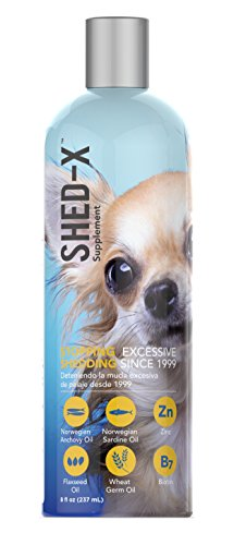 ermaplex Shed Control Nutritional Supplement for Dog; 8.3 fl. Oz, (packaging may vary) ()