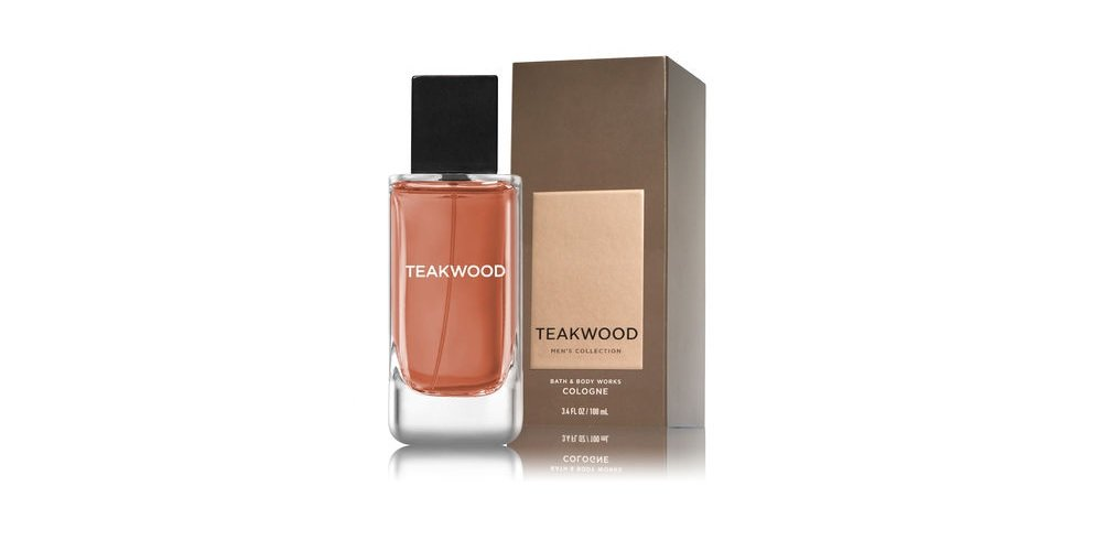 Bath and Body Works Teakwood Men's Collection 3.4 Ounce Cologne Spray New In Box by Bath & Body Works