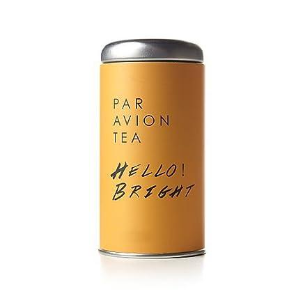 Par Avion Hello! Bolsas de té brillantes en lata artesanal ...