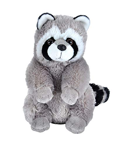 Wild Republic Raccoon Plush, Stuffed Animal, Plush Toy, Gifts for Kids, Cuddlekins 12 Inches