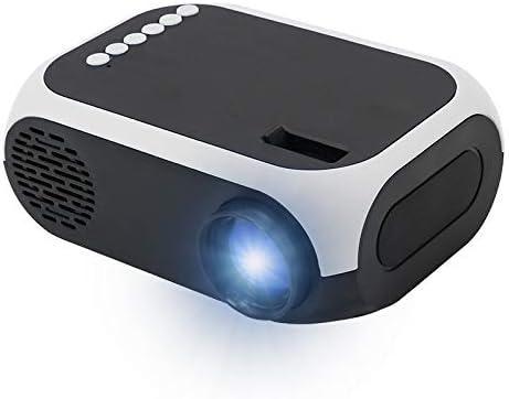 LINGZHEN Mini proyector portátil Portátil 1080P HD LED proyector ...