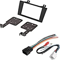 CAR CD STEREO RECEIVER DASH INSTALL MOUNTING KIT WIRE HARNESS AND RADIO ANTENNA ADAPTER FOR LINCOLN LS 2000 2001 2002 2003