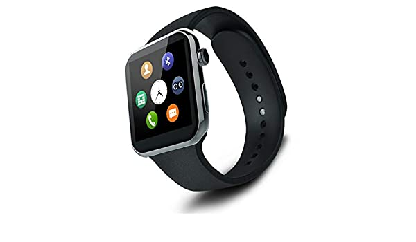 Amazon.com: Mercantil Express Reloj Inteligente Deportivo con Camara para l Phone y Android Digital De Mujer Y Hombre Unisex Accesorios para Celulares (All ...