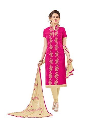 Fashions Trendz Indian Women Designer Partywear Ethnic Traditonal Pink Salwar Kameez by Fashions Trendz