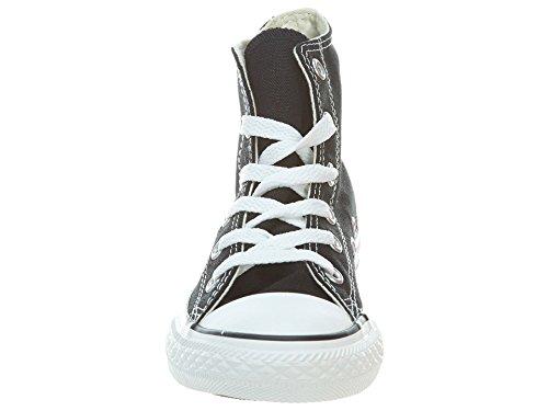 Unisex Taylor Kids Hi Star All White Converse Black Chuck Trainers 5YSq5X
