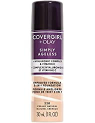 COVERGIRL + Olay Simply Ageless 3-in-1 Liquid Foundation...