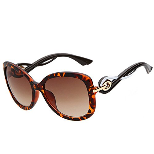 KaiSasi 2016 New Rose Gold Buckle Ms Retro Sunglasses Round Glasses Elegant - 2016 Sunglasses In Expensive World The Most