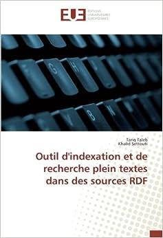 Outil d'indexation et de recherche plein textes dans des sources RDF