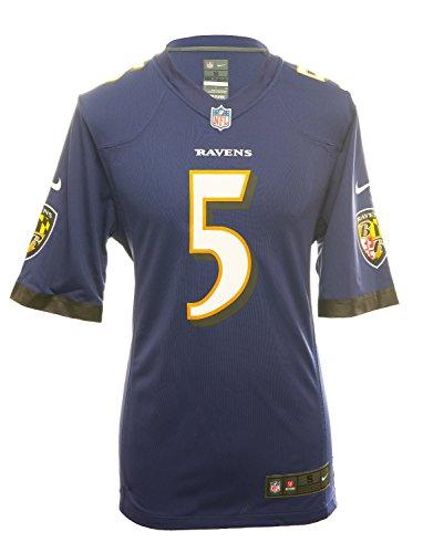 Nike Baltimore Ravens Joe Flacco Jersey – Purple – DiZiSports Store