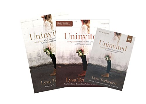 Lysa Terkeurst - Uninvited FULL SET (Book + DVD + Study Guide)