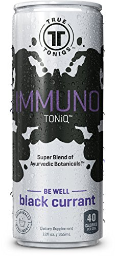 TrueToniqs, LLC - Immuno Toniq - Black Currant Flavor - 12 ounce - Pack of 24