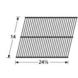 Music City Metals 40901 Chrome Steel Wire Cooking Grid Replacement for Select El Patio Gas Grill Models