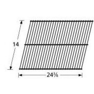 Cooking Grills Fiesta (Music City Metals 40901 Chrome Steel Wire Cooking Grid Replacement for Select El Patio Gas Grill Models)