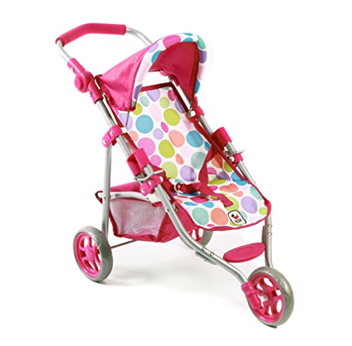 Bayer Chic 2000 612 17 - Jogging-Buggy Lola, Puppenwagen, Bubbles, pink