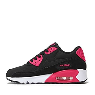 7a1d09421 Nike Air Max 90 LTR(GS) Big Kid's Shoes Black/Pink Prime/