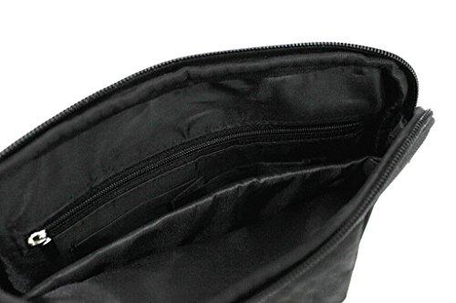 Roncato - Bolso al hombro para hombre Negro negro