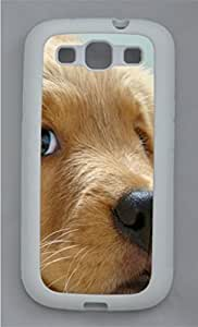 Golden Retriever puppy 1 Animal TPU Silicone Case Cover for Samsung Galaxy S3 I9300 White wangjiang maoyi