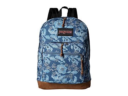 - JanSport Unisex Right Pack Expressions Batik Blue Denim One Size