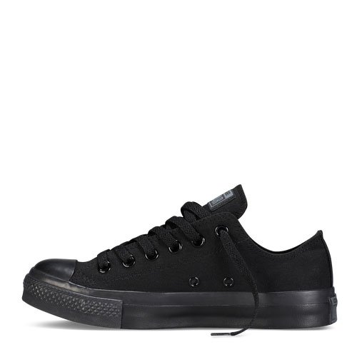 Image Unavailable. Image not available for. Color  Converse Women s Chuck  Taylor All Star Lo Top Black Monochrome ... be91818d3