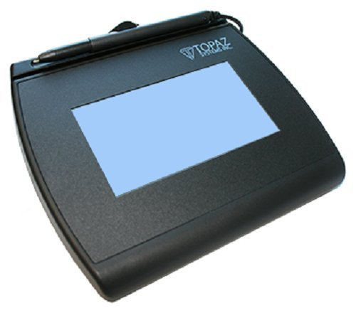 Topaz T-LBK755-BHSB-R SignatureGem LCD 4x3 Signature Capture Pad - (Certified Refurbished) by Topaz