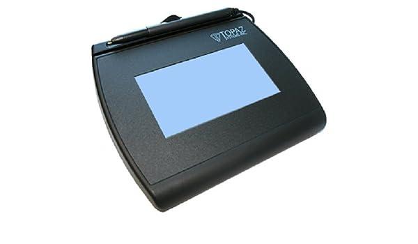 Topaz T-LBK755-BHSB-R SignatureGem LCD 4x3 Signature Capture Pad Renewed