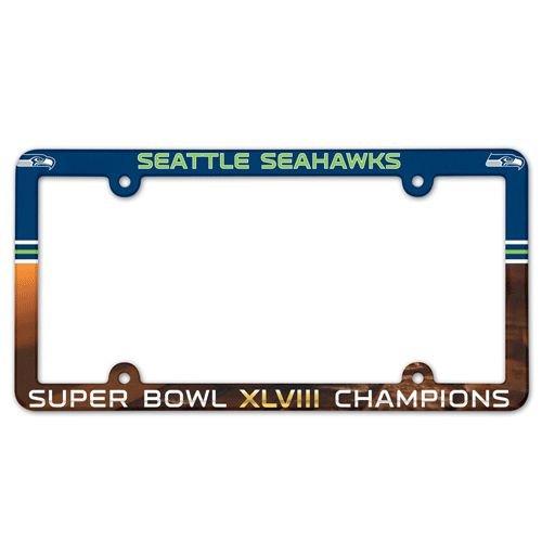 Seattle Seahawks Full Color License Plate Frame