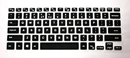 US layout Keyboard Protector Skin Cover for Dell XPS 15-9550, Inspiron 15-7568, 14-3452, i7568, i3452 (\