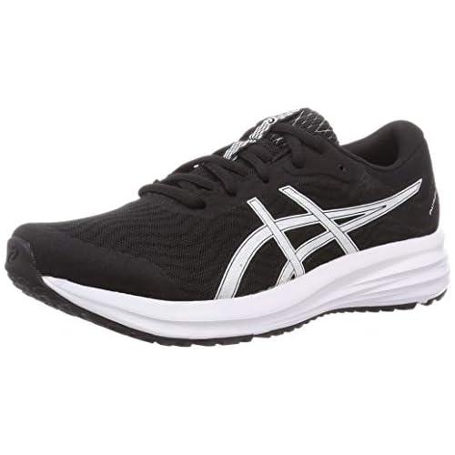 chollos oferta descuentos barato Asics Patriot 12 Sneaker Hombre Black White 44 EU