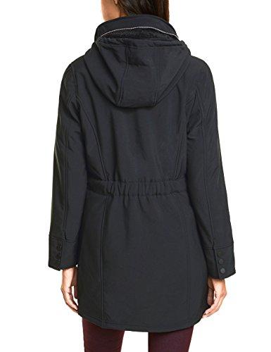 Black Femme One Manteau Schwarz Street 10001 wxIqATYE0